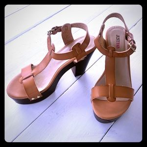 Just Fab Platform Sandals